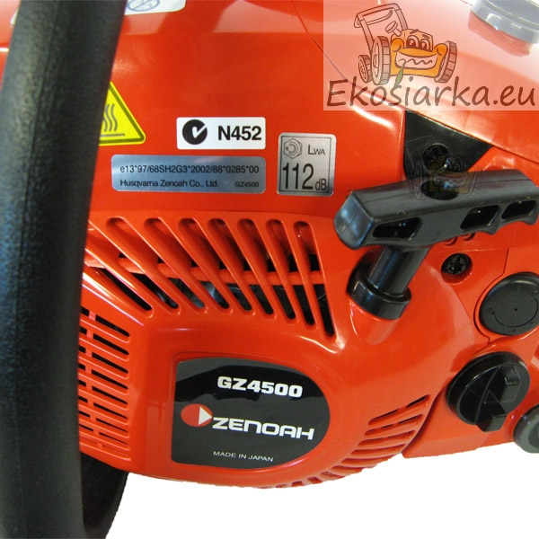 Chainsaw Zenoah GZ4500 - Ekosiarka eu - Lawnmowers